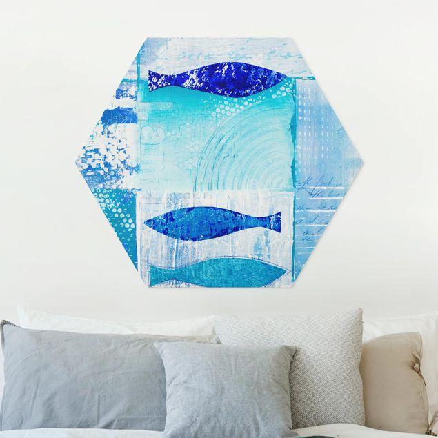 Hexagon Bild Forex - Fish in the Blue