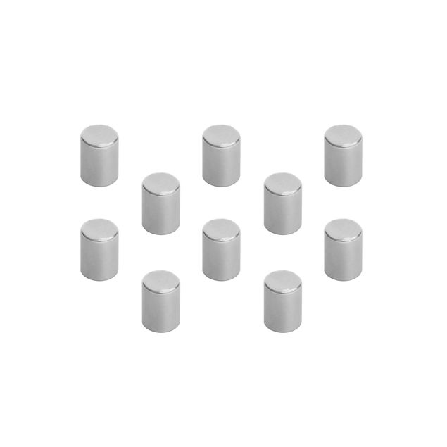 10 Magnete Set - Neodym 0,7cm - ultrastarke Haftung