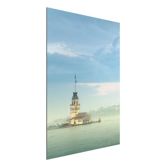 Alu-Dibond Bild - Maidens Tower