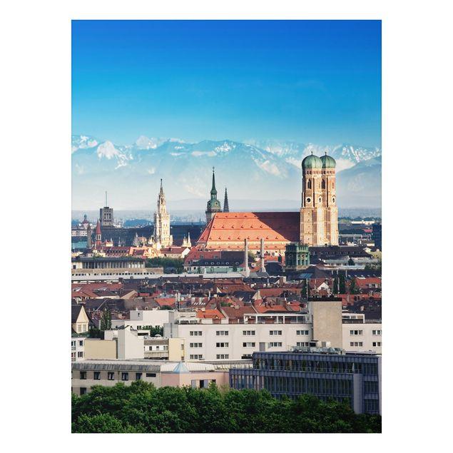 Alu-Dibond Bild - München