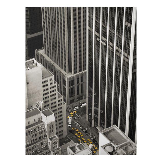 Alu-Dibond Bild - NYC 5pm