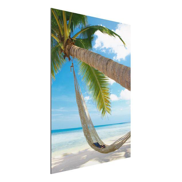 Alu-Dibond Bild - Relaxing Day