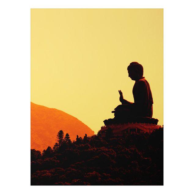 Alu-Dibond Bild - Resting Buddha