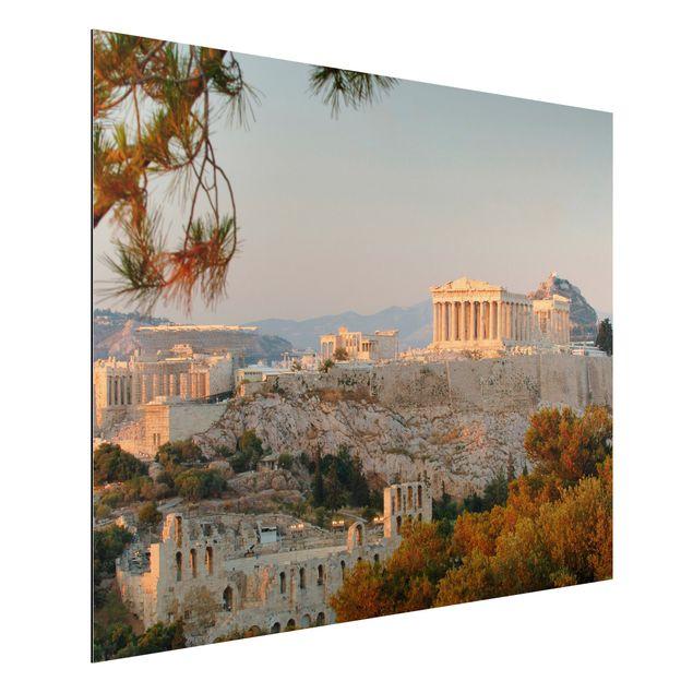 Alu-Dibond Bild - Akropolis