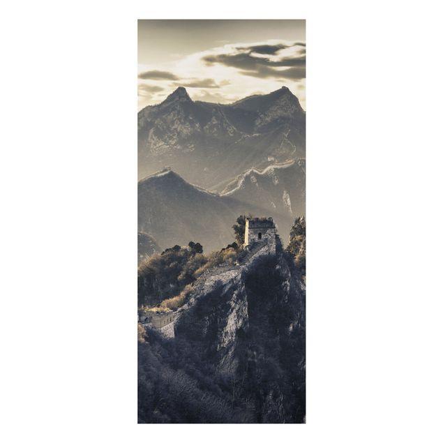 Alu-Dibond Bild - Die große chinesische Mauer