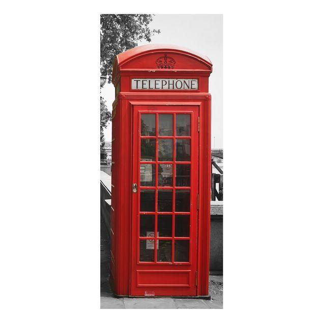 Alu-Dibond Bild - Telephone