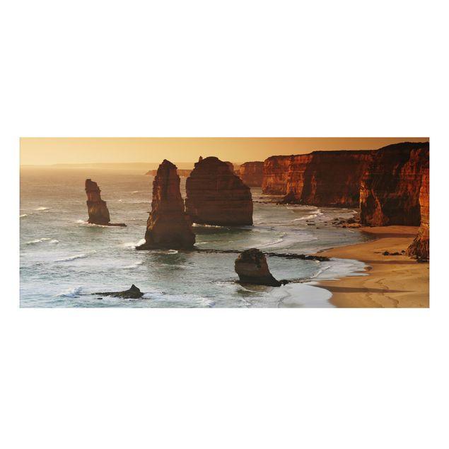 Alu-Dibond Bild - Die zwölf Apostel von Australien