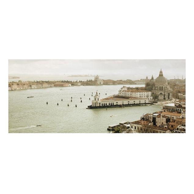 Alu-Dibond Bild - Lagune von Venedig