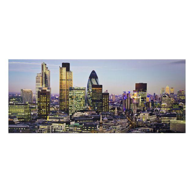 Alu-Dibond Bild - London City
