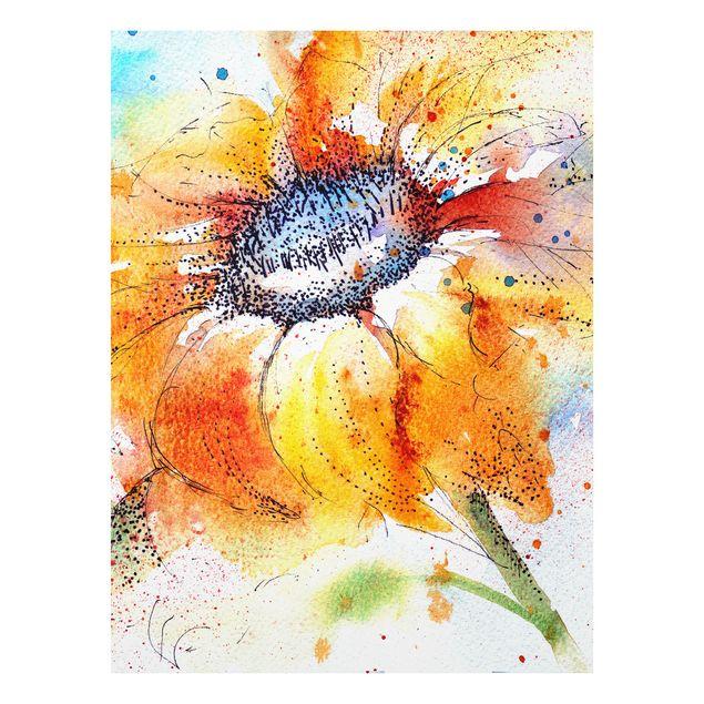 Forexbild - Painted Sunflower