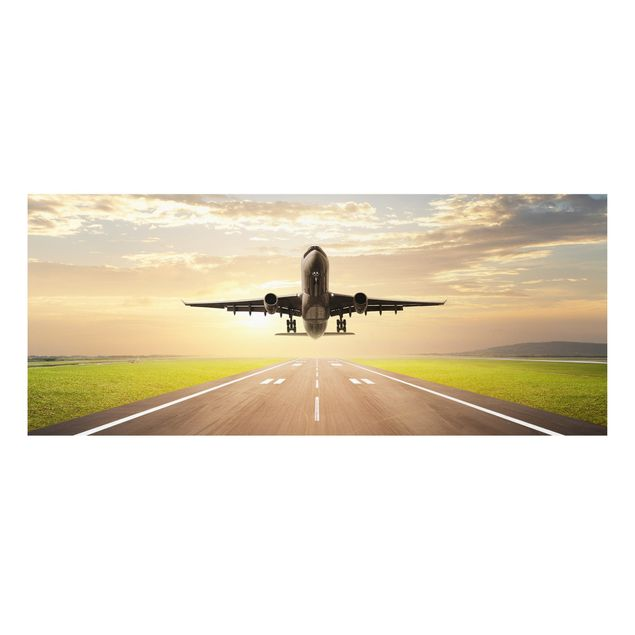 Forexbild - Startendes Flugzeug