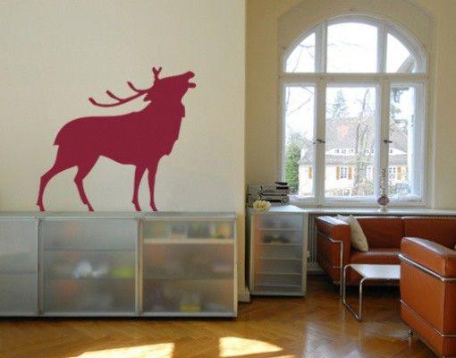 Wandtattoo No.SF104 Hirsch