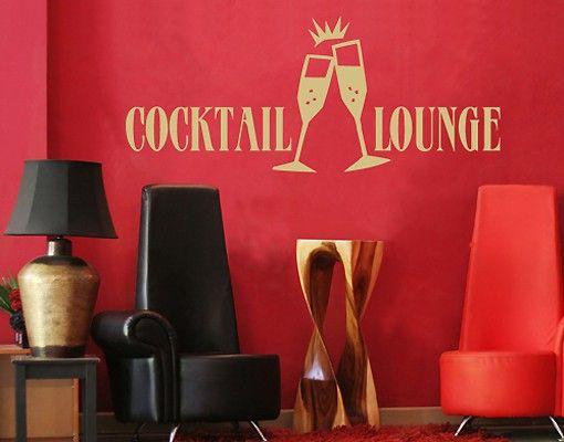 Wandtattoo Sprüche - Wandworte No.SF155 Cocktail Lounge I