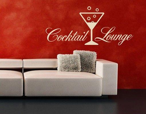 Wandtattoo Sprüche - Wandworte No.SF156 Cocktail Lounge II
