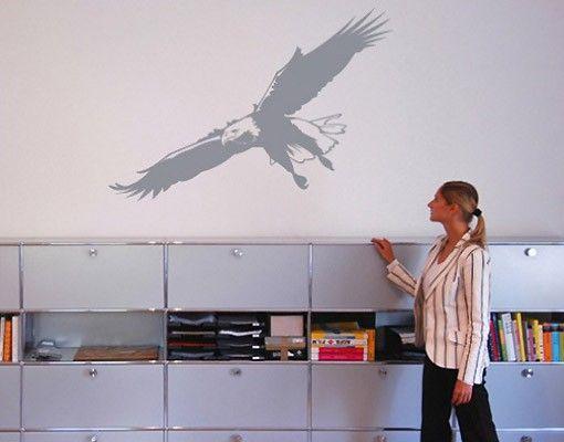 Wandtattoo Vögel No.340 Adler