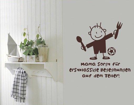Wandtattoo Sprüche - Wandsprüche No.SF339 erstklassige Begegnung