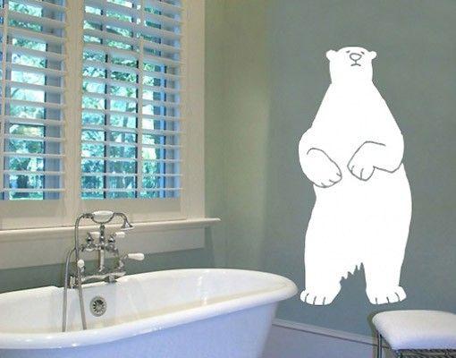 Wandtattoo Kinderzimmer Bär No.UL121 Eisbär