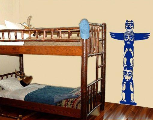 Wandtattoo Kinderzimmer No.BR162 Marterpfahl