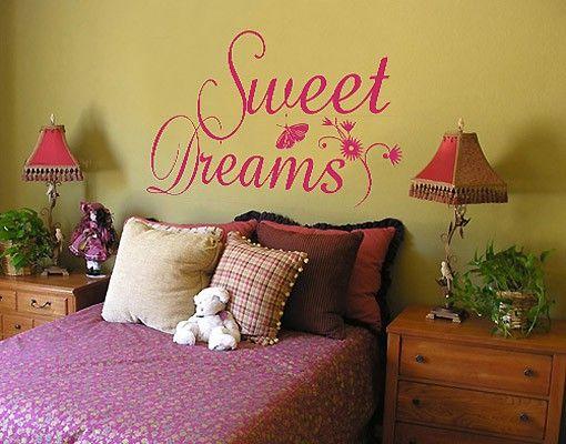 Wandtattoo Sprüche - Wandworte No.214 Sweet Dreams