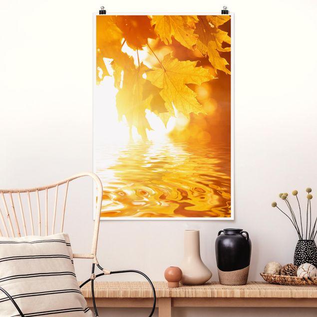 Poster - Autumn Leaves - Hochformat 3:2