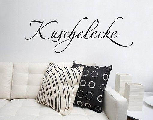 Wandtattoo Sprüche - Wandworte No.SF379 Kuschelecke2