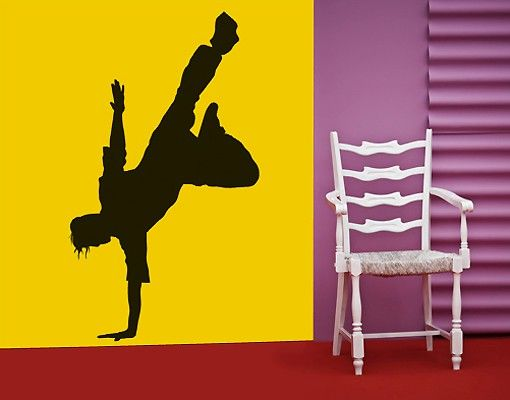 Wandtattoo No.SF408 Breakdance