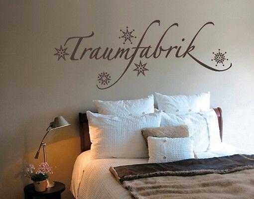 Wandtattoo Sprüche - Wandworte No.SF468 Traumfabrik