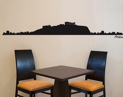 Wandtattoo Skyline No.SF486 Athen Skyline