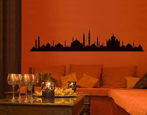 Wandtattoo Skyline No.SF491 1001 Moschee Silhouette