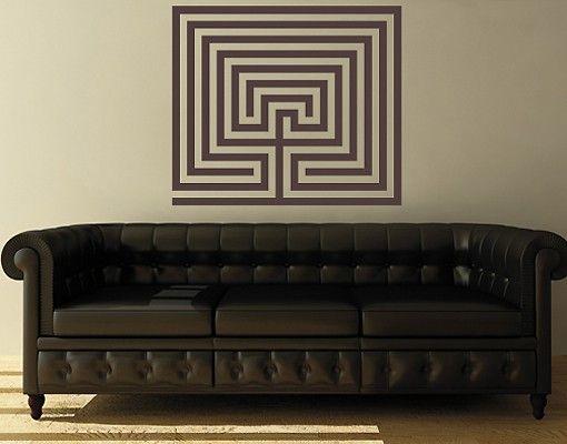 Wandtattoo No.UL254 Labyrinth