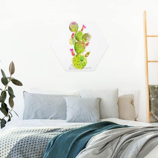 Hexagon Bild Forex - Kaktus mit Bibellvers III