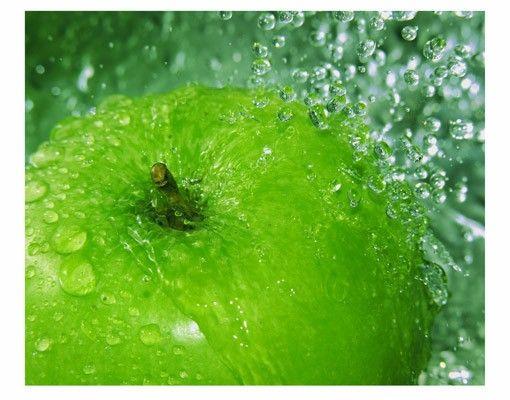 Fensterfolie - Sichtschutz Fenster Green apple - Fensterbilder