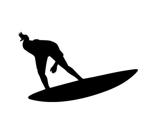 Wandtattoo No.404 Surf Sports