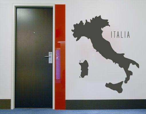 Wandtattoo No.KP120 italia