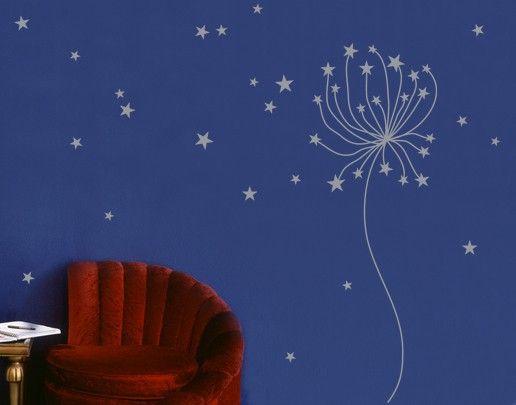 Wandtattoo Pusteblume No.SF580 lovely Star
