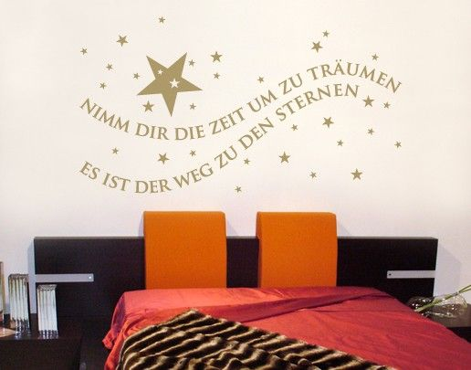 Wandtattoo Zitate - Wandzitate No.SF594 Zeit zum Träumen
