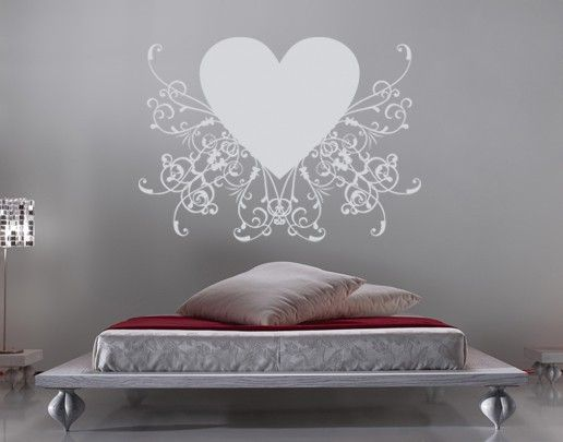 Wandtattoo No.SF600 romantic Heart 1