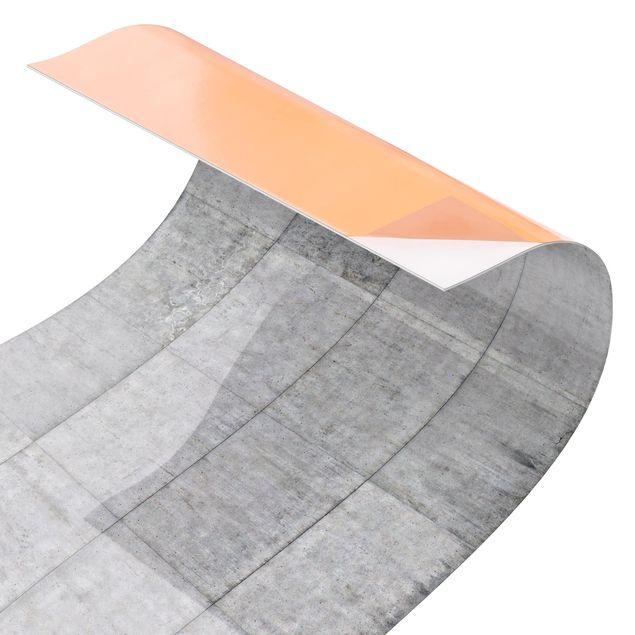 Kuchenruckwand Beton Ziegeloptik Grau