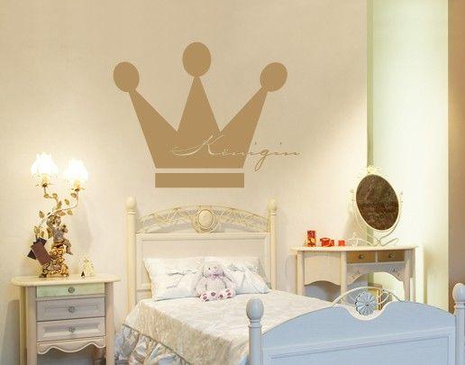 Wandtattoo Kinderzimmer No.UL318 Königin