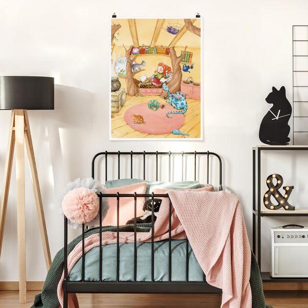 Poster - Frida erzählt vom Hexentreffen - Hochformat 3:4