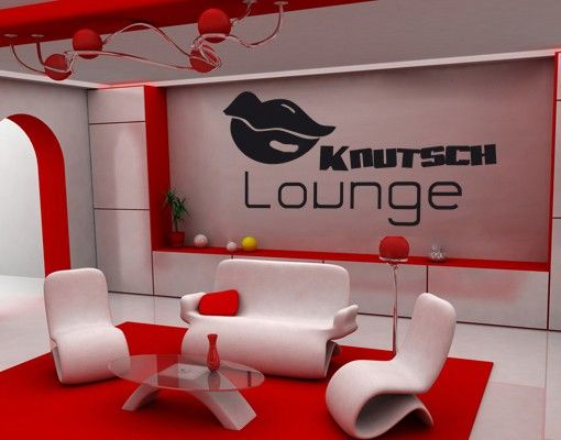 Wandtattoo No.KP162 Knutsch-Lounge