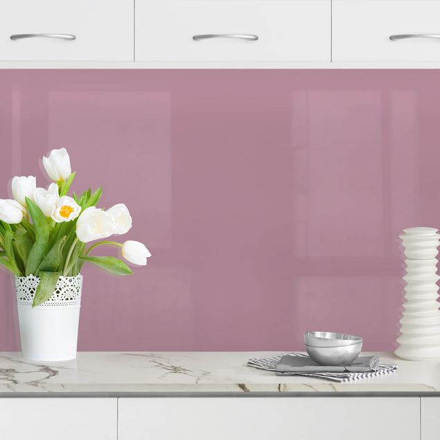 Küchenrückwand - Malve