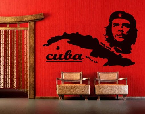 Wandtattoo No.TM81 Cuba