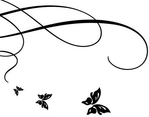 Wandtattoo Sprüche - Wandtattoo Namen No.530 Wunschtext Butterfly Wedding