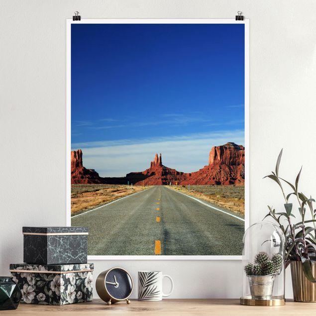 Poster - Colorado-Plateau - Hochformat 3:4