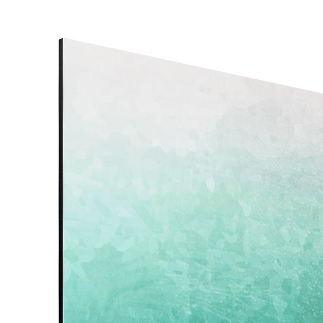 Aluminium Print - Fische in der Tiefsee - Querformat 2:3
