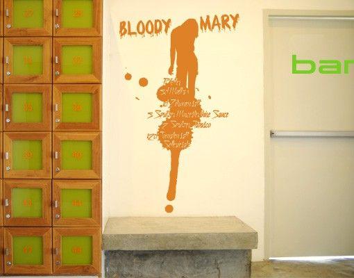 Wandtattoo No.JO23 Bloody Mary