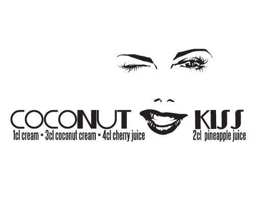 Wandtattoo No.JO24 Coconut Kiss