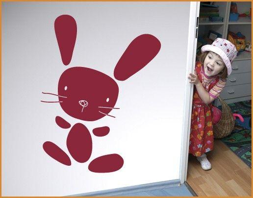 Wandtattoo Babyzimmer No.SF738 Bunny