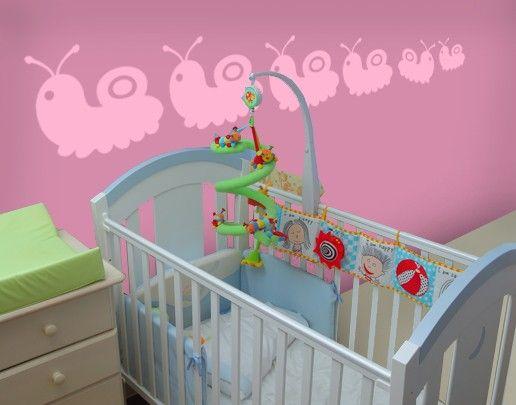 Wandtattoo No.UL436 Baby Schnecken Set